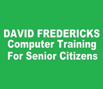 David Fredericks Computer Training For Senior Citizens